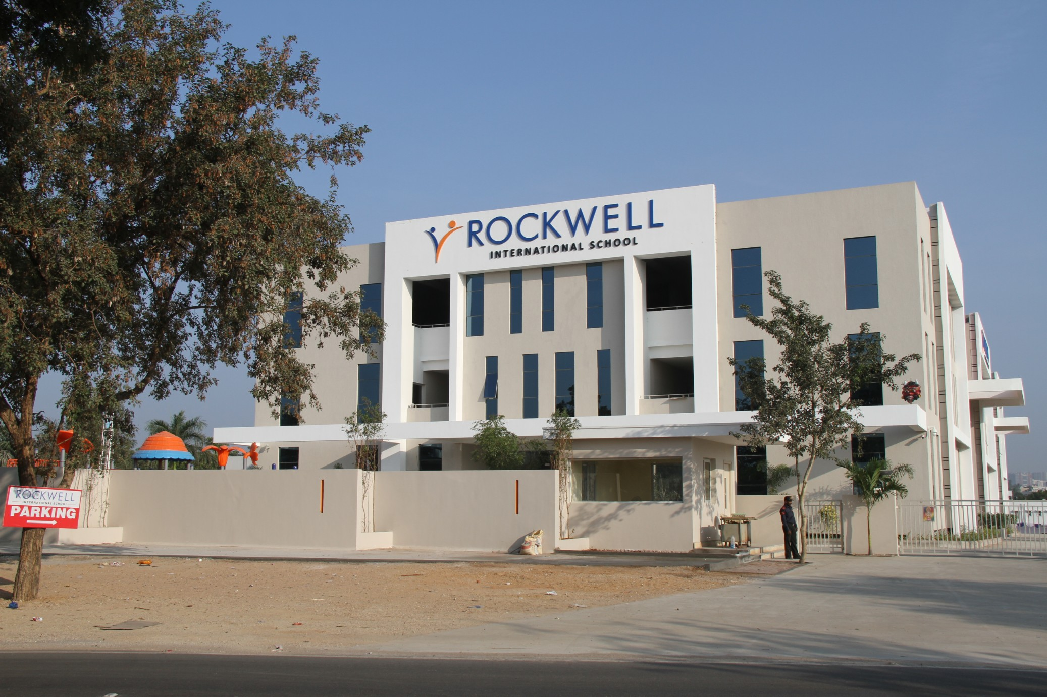 Rockwell Entrance